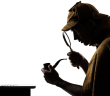 http://www.dreamstime.com/stock-photos-sherlock-holmes-silhouette-image29150673
