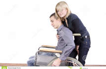 http://www.dreamstime.com/royalty-free-stock-image-woman-taking-care-disabled-man-image13764716