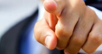 puntare il dito